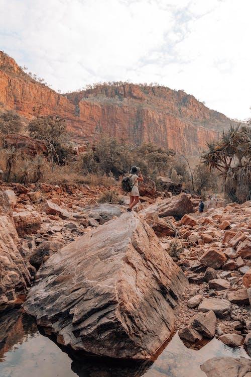 Foto d'estoc gratuïta de a l'aire lliure, àrid, barranc, Canyon