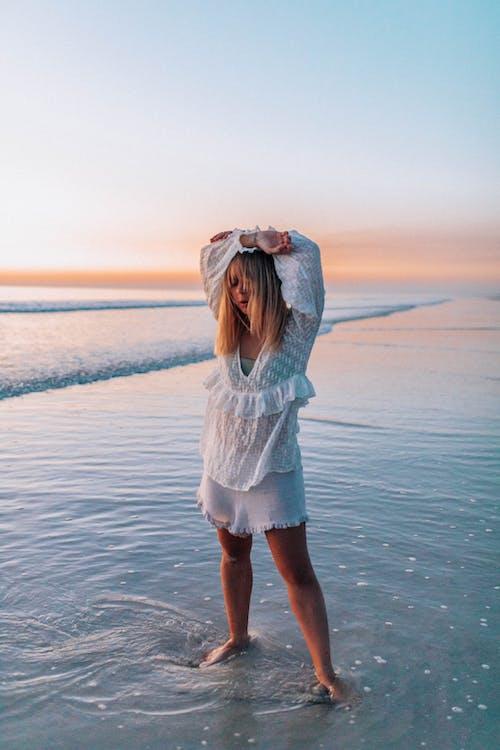 くつろぎ, ビーチ, 休暇, 余暇の無料の写真素材