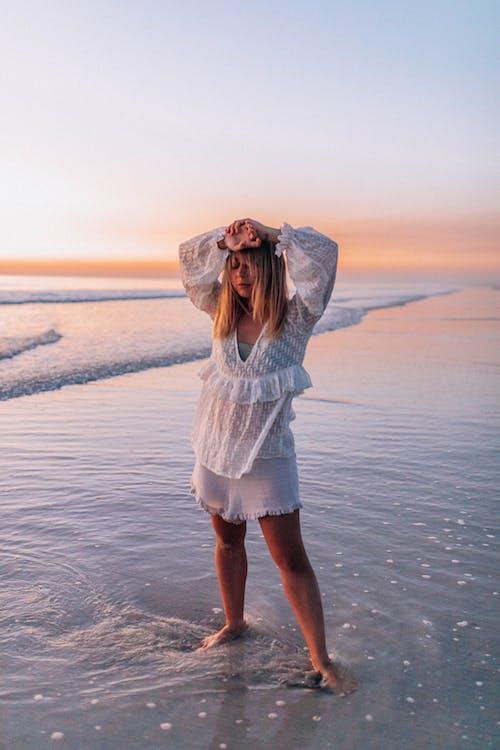 ビーチ, 人, 余暇, 冬の無料の写真素材