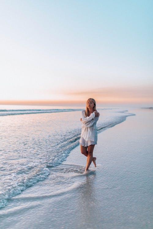 くつろぎ, ビーチ, ロマンス, 休暇の無料の写真素材
