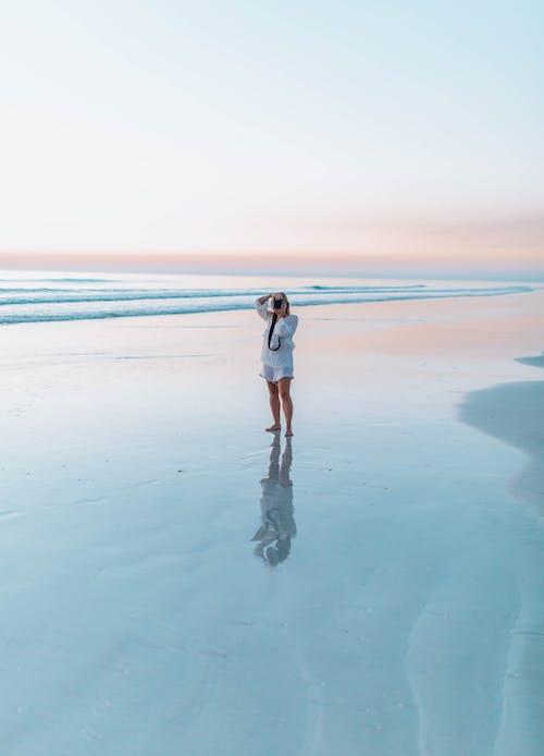 Foto d'estoc gratuïta de a l'aire lliure, aigua, alba, esbarjo