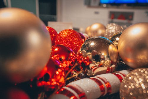 Free stock photo of christmas, christmas background, christmas balls