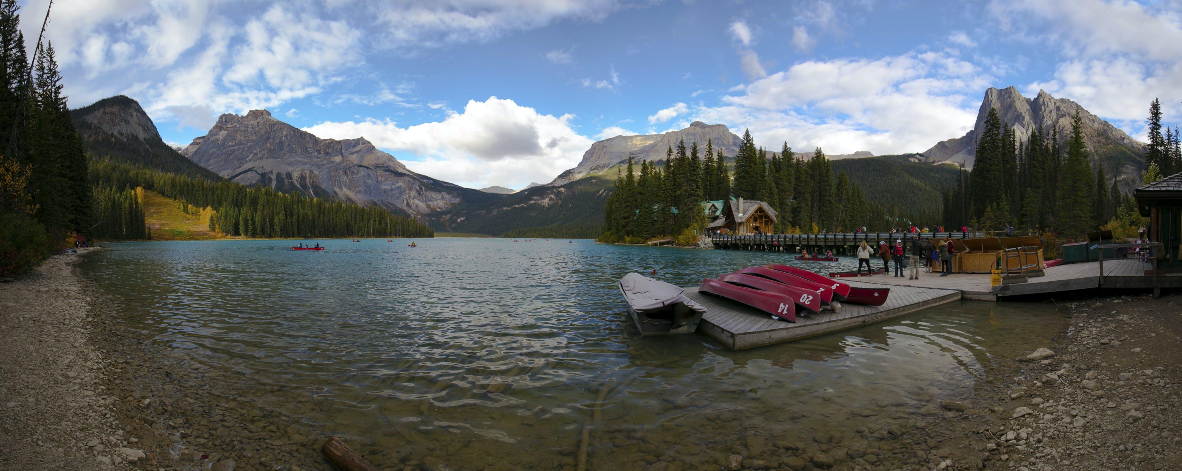 Free stock photo of canada, british columbia, emerald lake