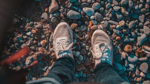 Free stock photo of adventure, beach, feet, journey