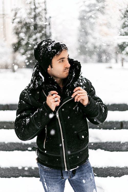 Photos gratuites de amusement, automne, boule de neige, écharpe