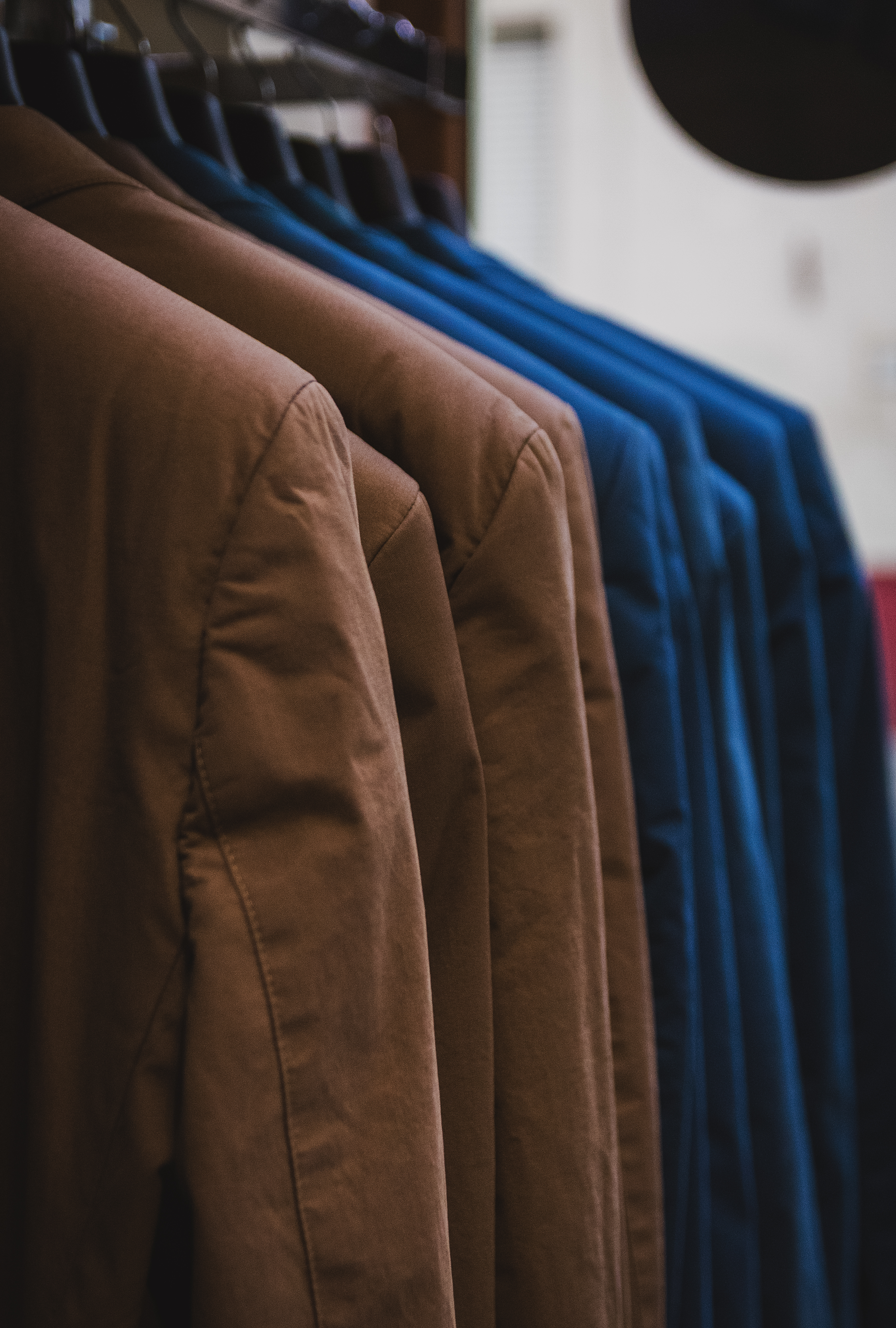 Brown and Blue Coat Lot