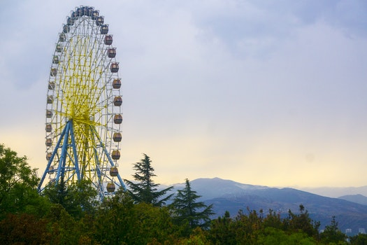Free stock photo of ferris wheel, wheel, georgia, nature park