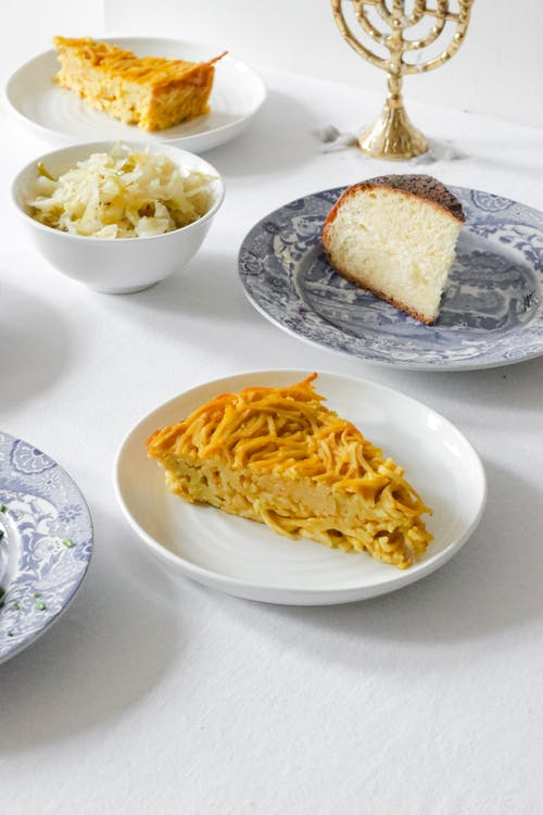 Food on White Ceramic Plate