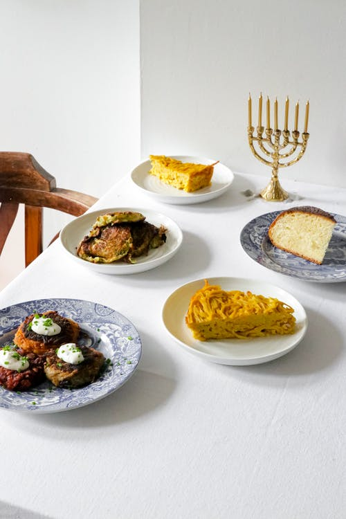 White Ceramic Plate With Food On It