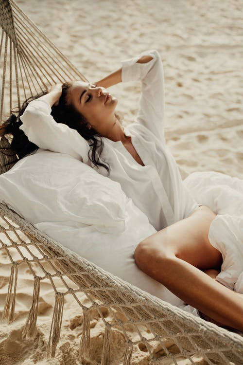 Безкоштовне стокове фото на тему «відпустка, вставай, гамак»