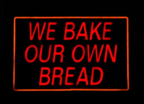 Free stock photo of baking, bread, neon, neon sign