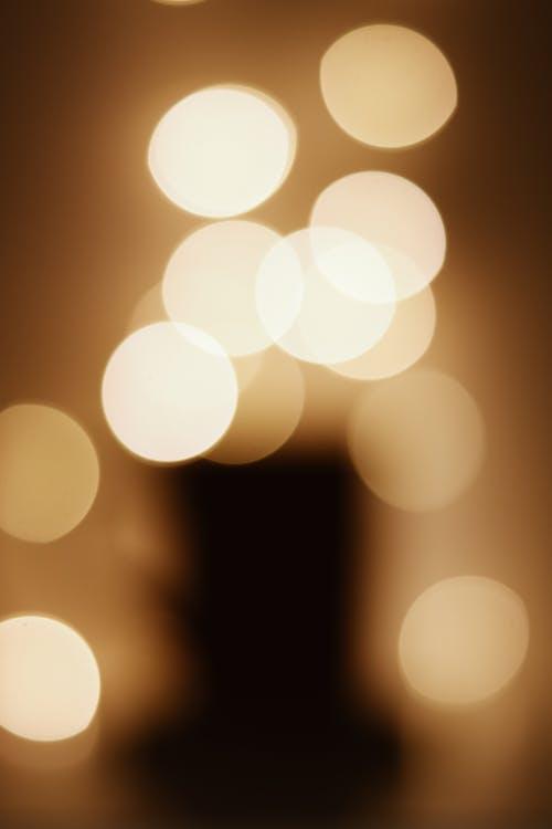 White and Yellow Bokeh Lights