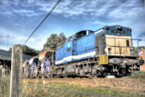 Immagine gratuita di allenare, binario ferroviario, ferrovia, locomotiva