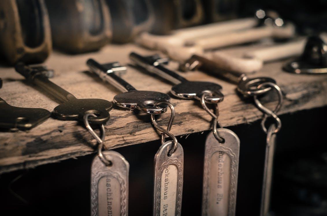 Pile of Gray Keys