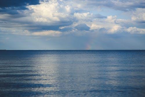 地平線, 海, 海水, 海洋 的 免費圖庫相片