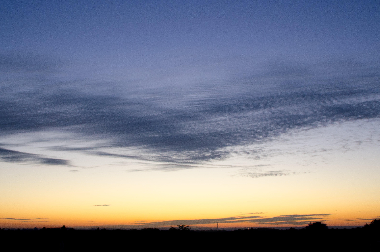 Free stock photo of clouds, evening, evening sky, evening sun