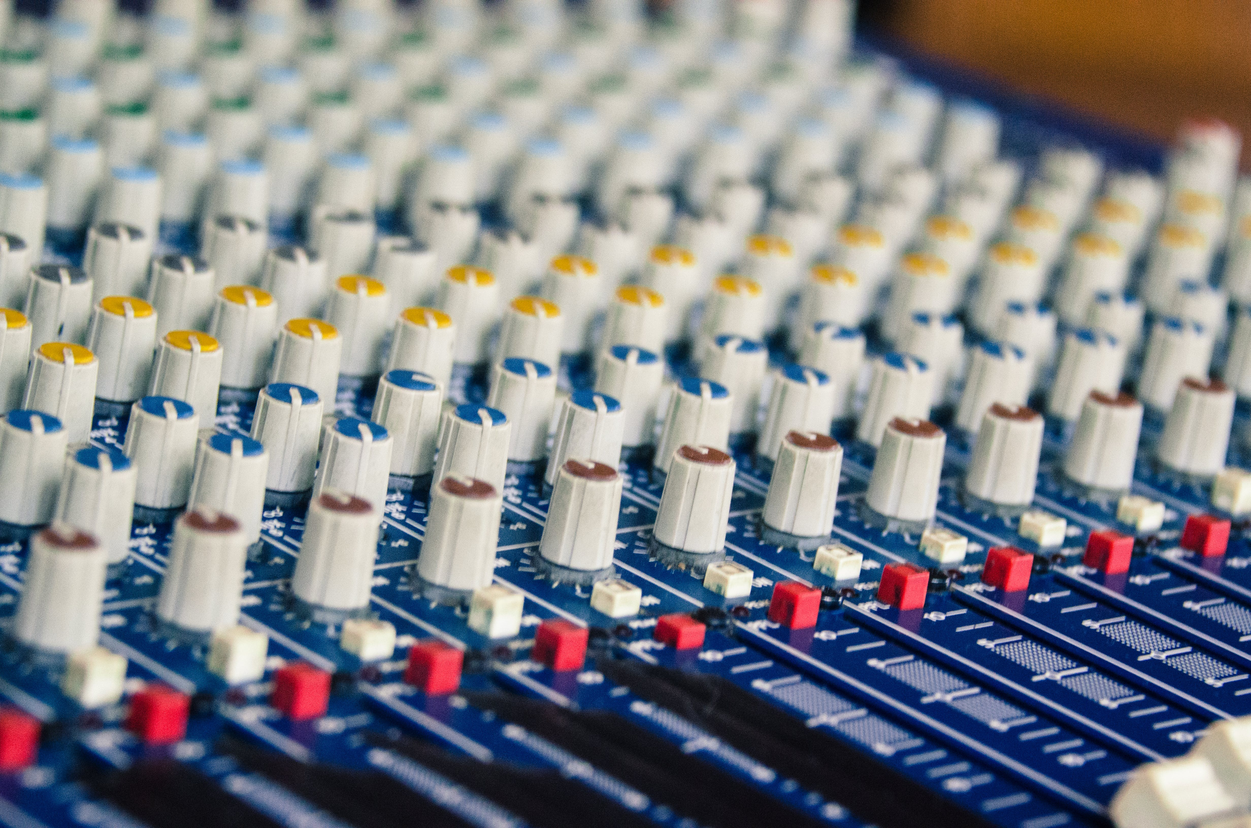 Free stock photo of analog, audio, audio engineer, audio mixer