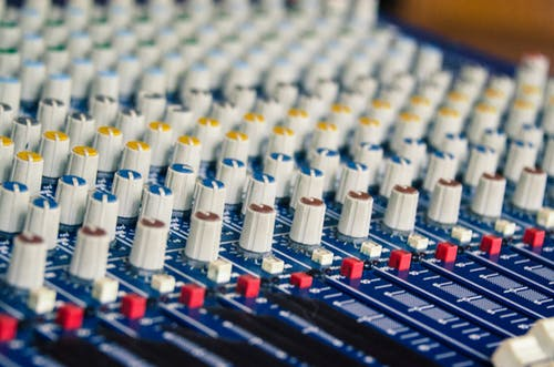 Free stock photo of analog, audio, audio engineer, audio mixer