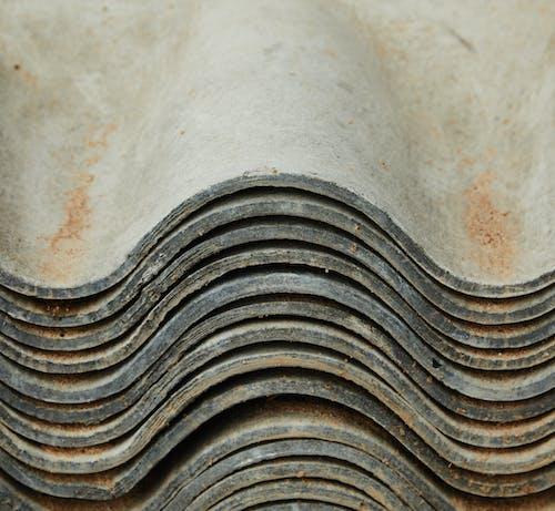 Dinding Beton Coklat Putih