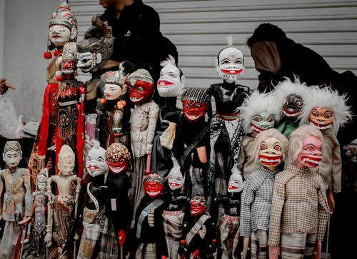 Group of People Wearing Mask