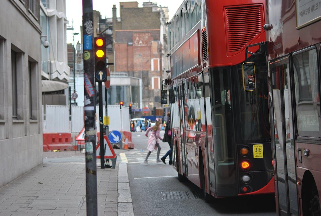 Free stock photo of buses, london, street