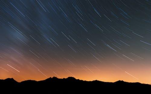 Бесплатное стоковое фото с galaxy, абстрактный, Альпы