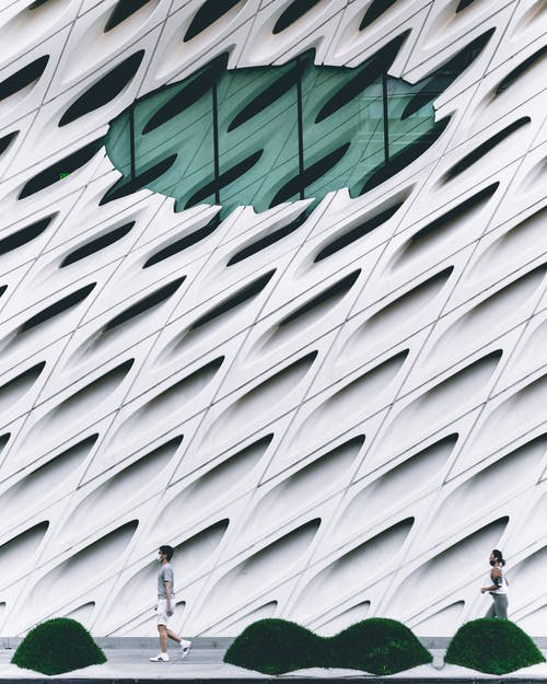 White Concrete Wall of Building