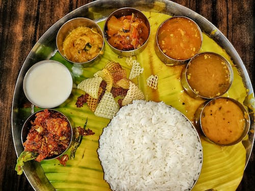 Free stock photo of andra meals, home cooked meals, indian food, indian lunch