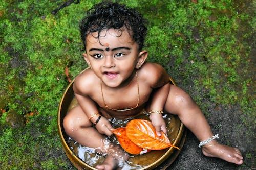 Free stock photo of asian kid, cute girl, cute kerala kid, cute smile