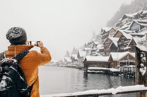 Gratis stockfoto met achteraanzicht, anoniem, apparaat