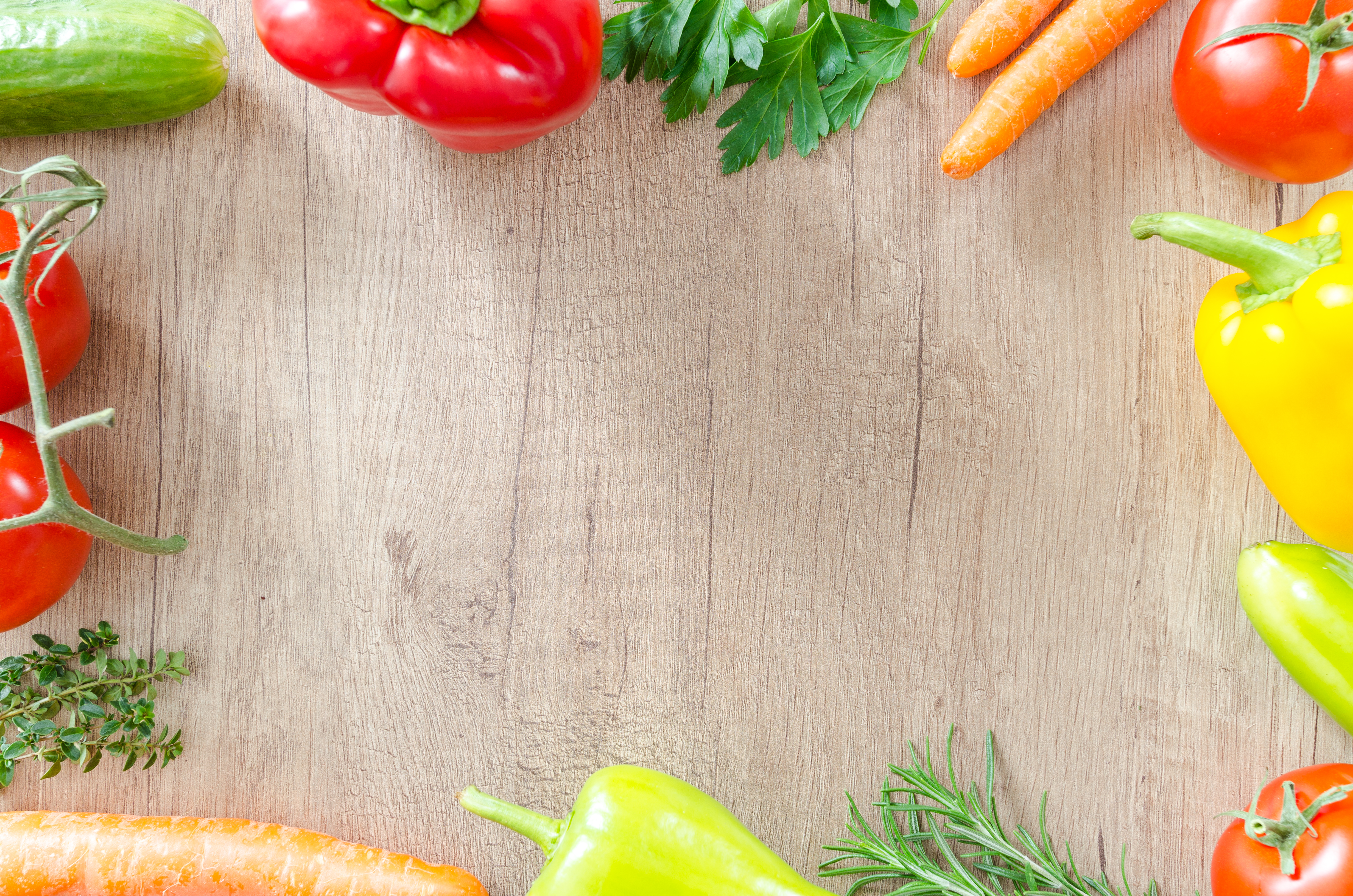 Assorted Vegetables On Brown Surface Free Stock Photo