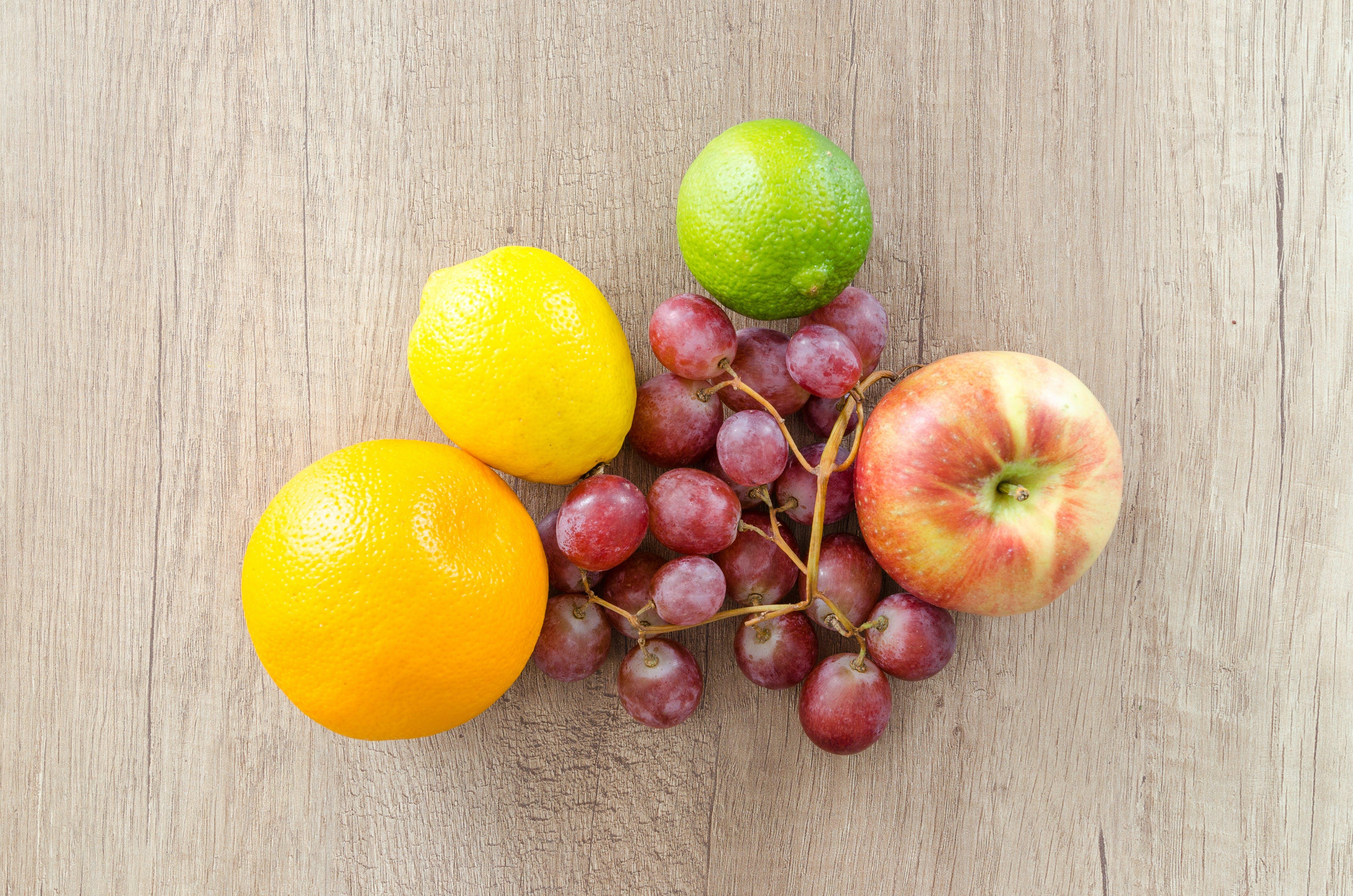 Gratis arkivbilde med appelsin, apple, delikat, druer