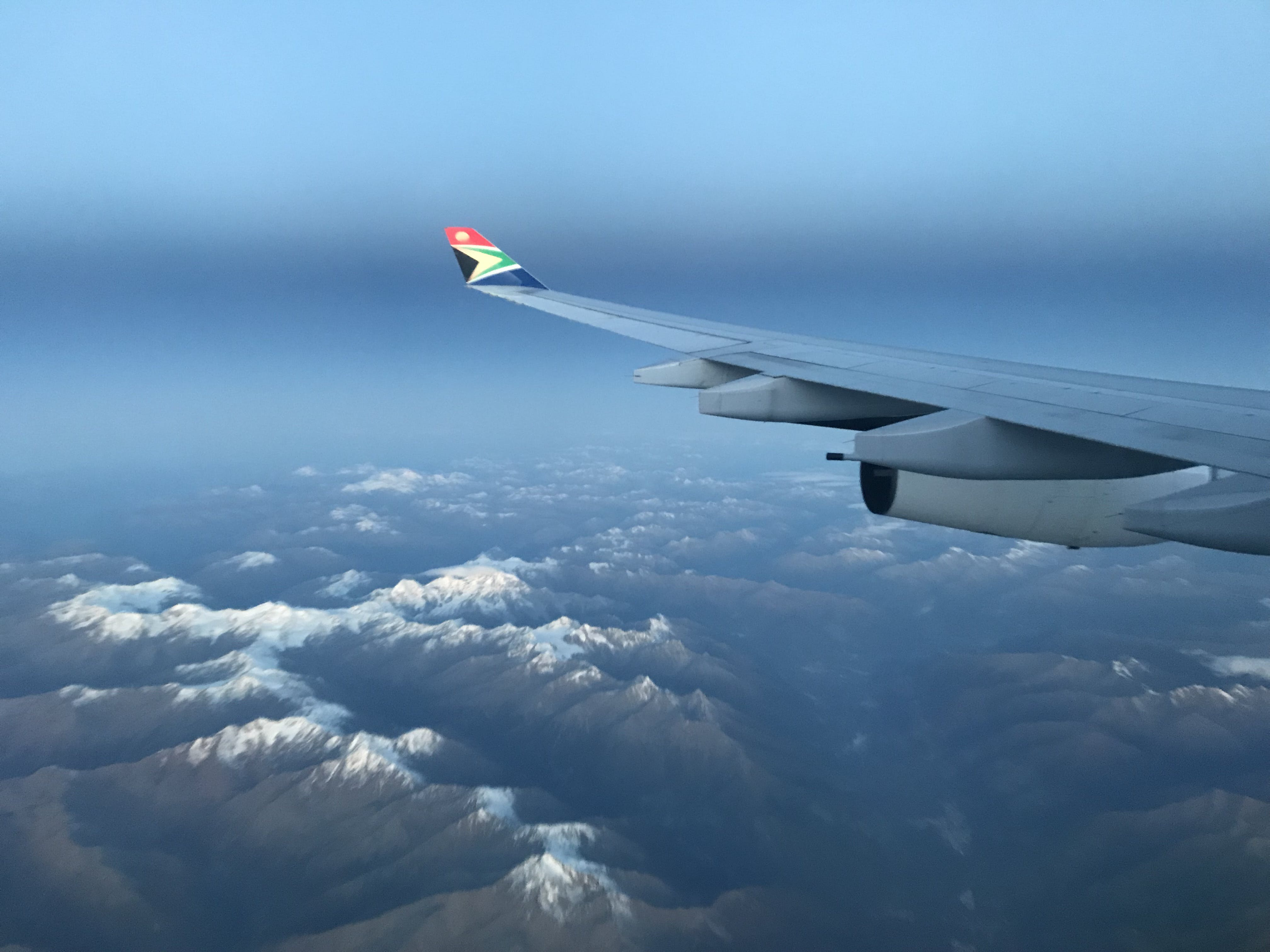 Free stock photo of aeroplane, airplane, alps, altitude