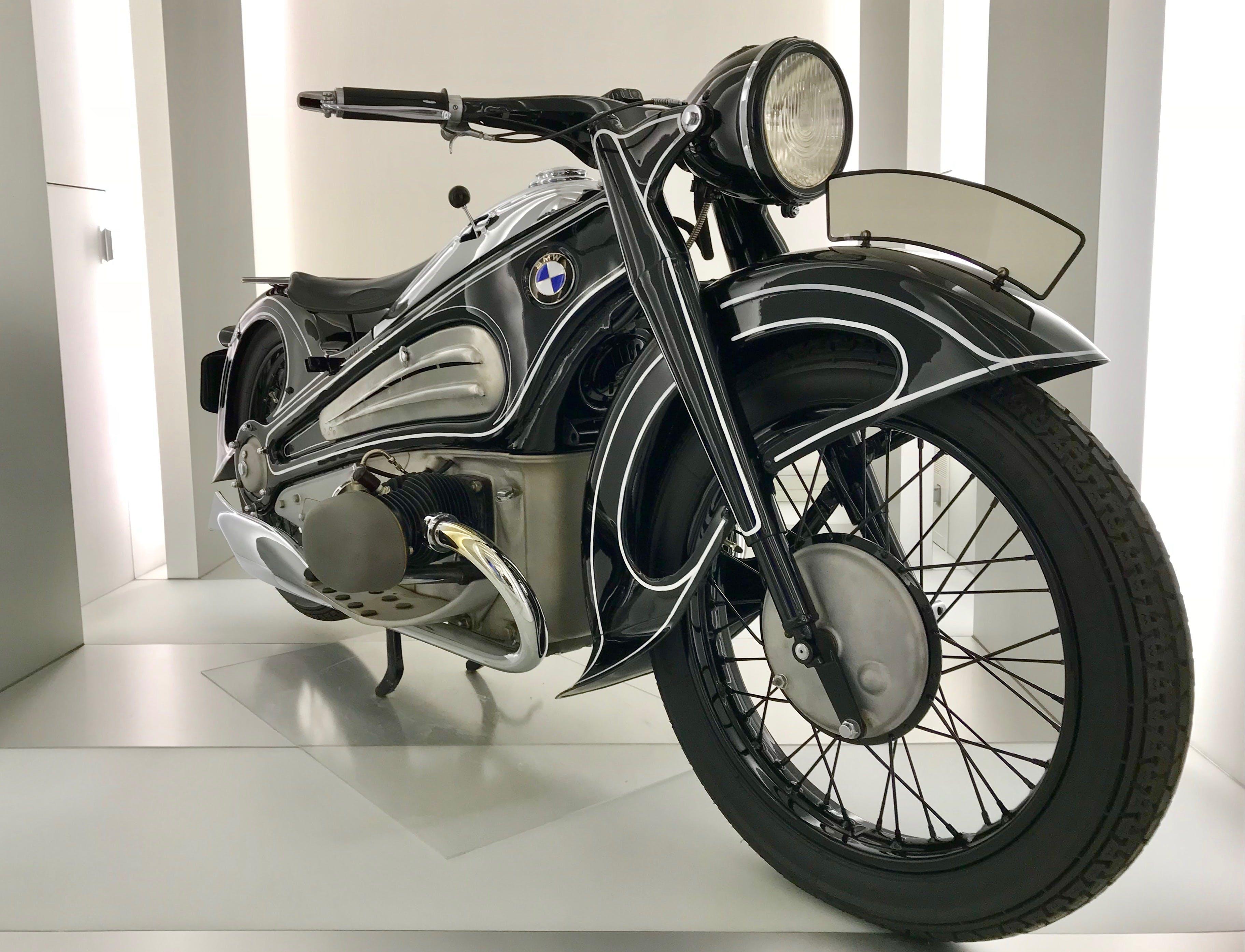 Free stock photo of antique, BMW, classic, motorbike