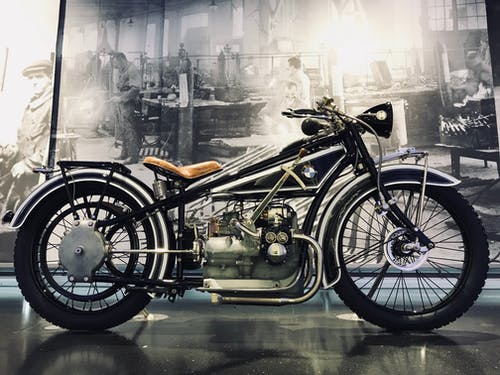 Free stock photo of antique, classic, motorbike, vintage