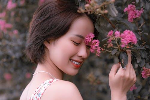 Foto profissional grátis de 3x4, alegre, Asiático