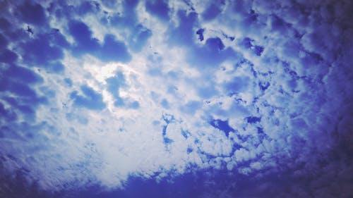 bulut, Kara bulutlar, mavi, Mavi gökyüzü içeren Ücretsiz stok fotoğraf