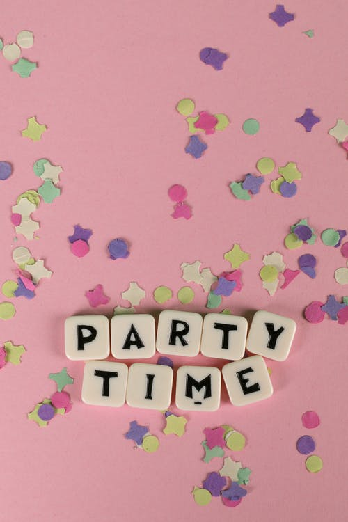 Party Time Text