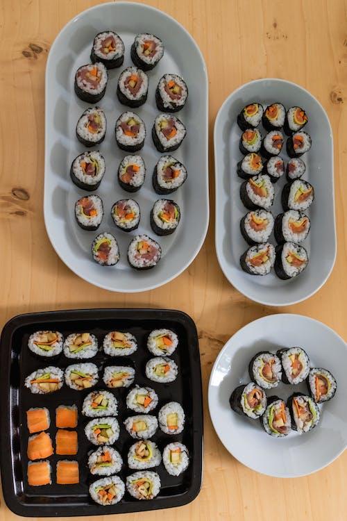 Δωρεάν στοκ φωτογραφιών με foodporn, sashimi, wasabi