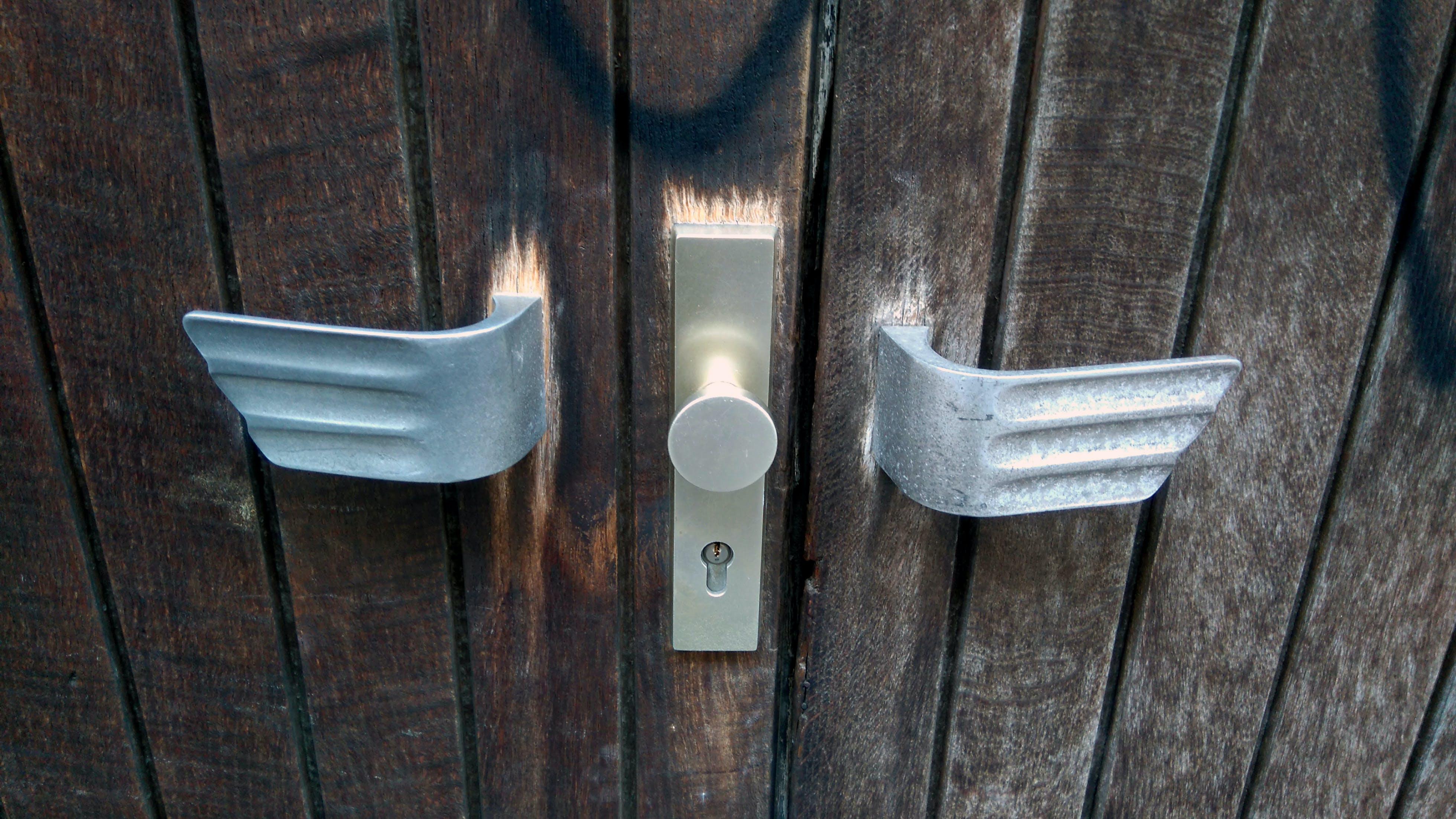 Free stock photo of lock, locked, wien, wooden doors
