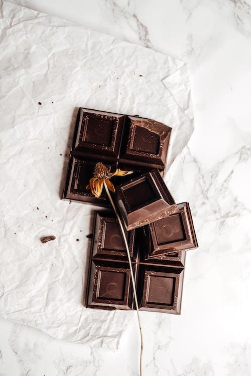 Darmowe zdjęcie z galerii z ciemny, cukier, czekolada mleczna