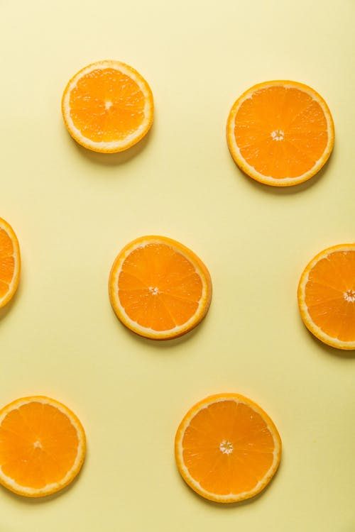 Seven Orange Slices