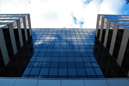 Free stock photo of architect, glass, sky