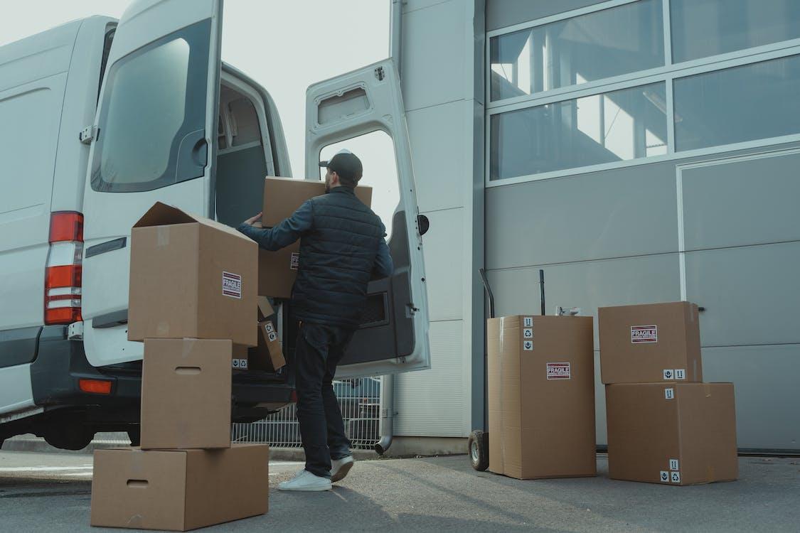 Shipping business Cardboard Box