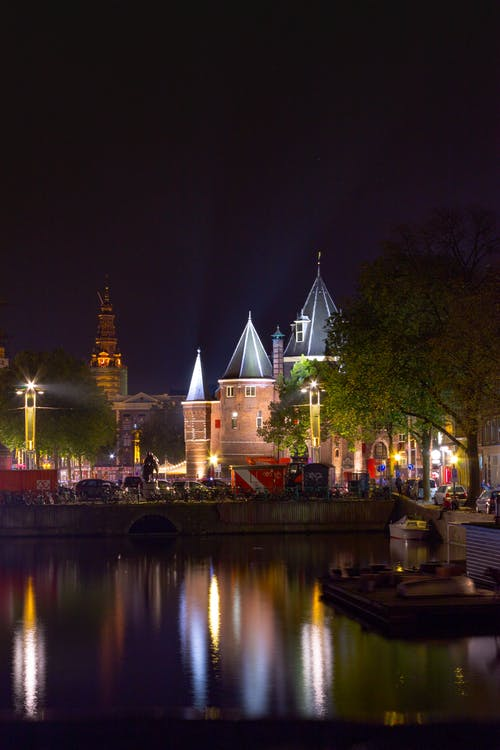 Free stock photo of amsterdam, castle, fairy-tale, netherlands