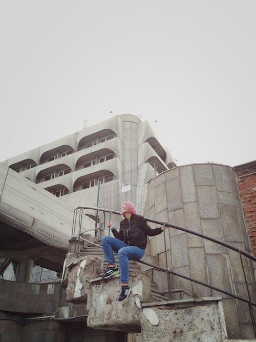 アダルト, おとこ, コンクリート, シティの無料の写真素材
