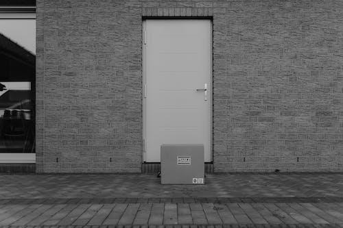 açık hava, ambalaj, beton duvar içeren Ücretsiz stok fotoğraf