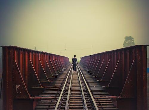 Free stock photo of alone, alone boy, boy walking