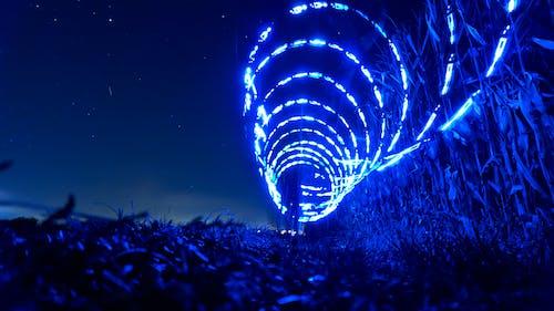 Ilmainen kuvapankkikuva tunnisteilla kenttä, kevyt maalaus, ruoho, sininen