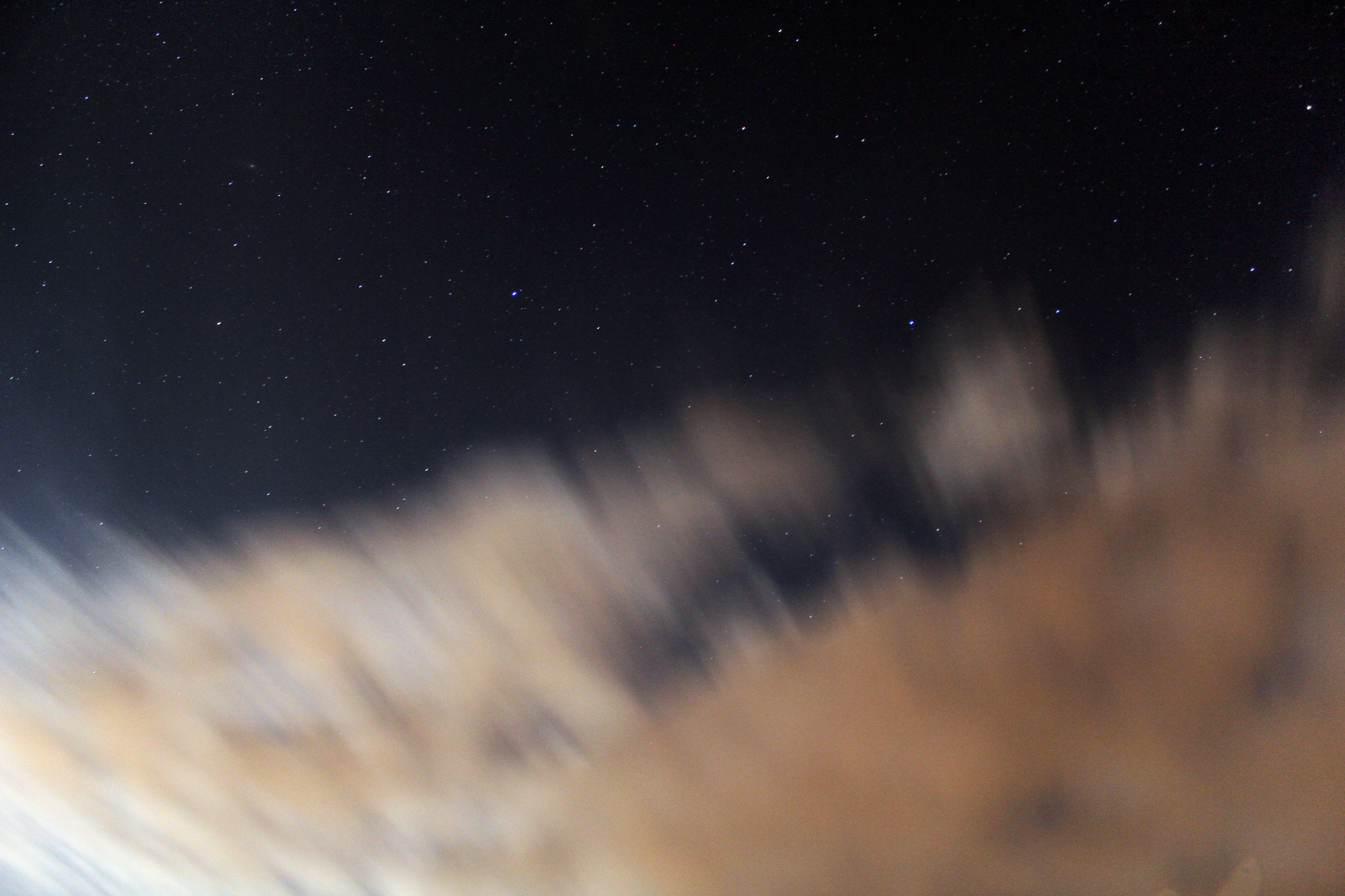 Free stock photo of andromeda, andromeda galaxy, clouds, dark